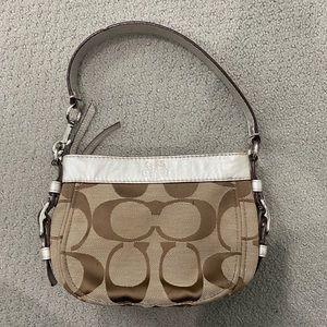 Authentic Coach Shoulder Purse Bag